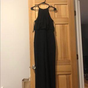 Eliza J black jumpsuit size 4